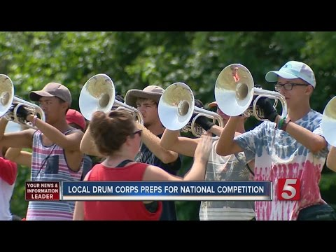 Music City Drum Corp. Preps For Competition