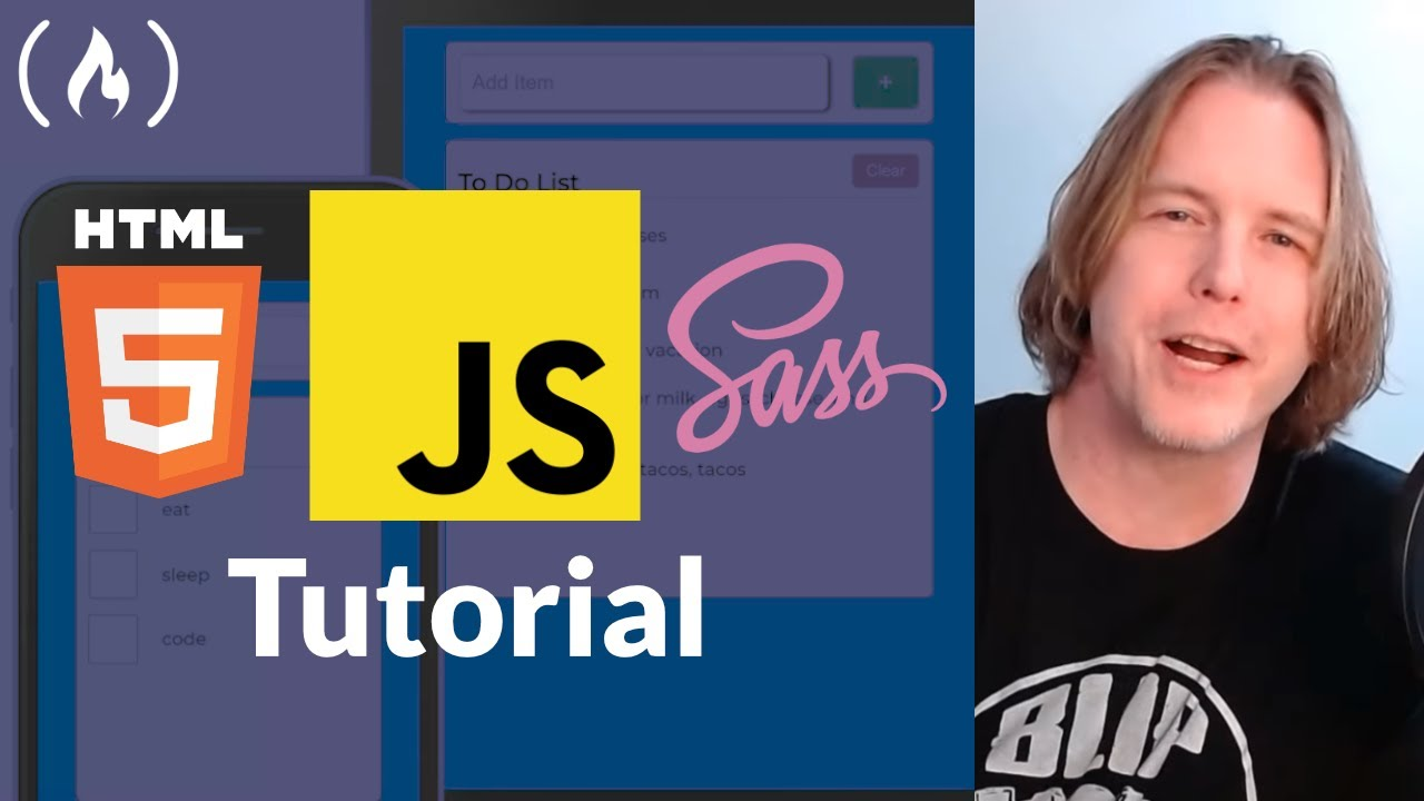 Web App Tutorial - JavaScript, Mobile First, Accessibility, Persistent Data, Sass