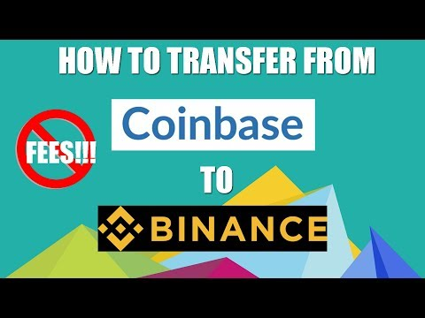 How To Transfer From Coinbase To Binance - GDAX