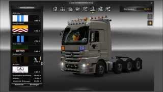 Euro Truck Simulator 2 Modvorstellung Tuning Pack für Mercedes Benz Actros