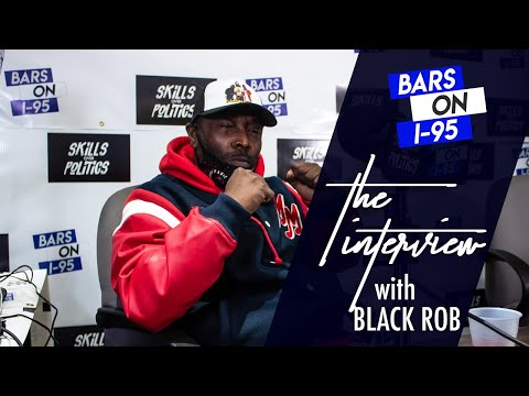 Black Rob Bars On I - 95 talks signing with Diddy, his struggles more
