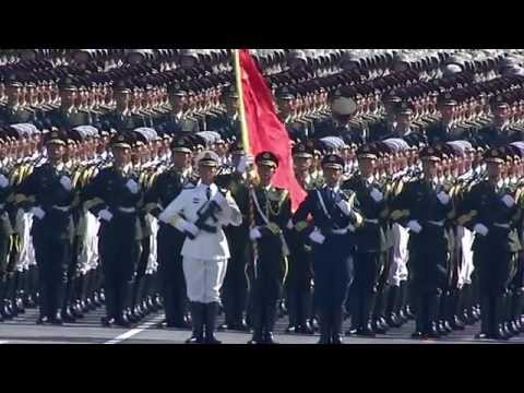 Epic Chinese military parade 2009