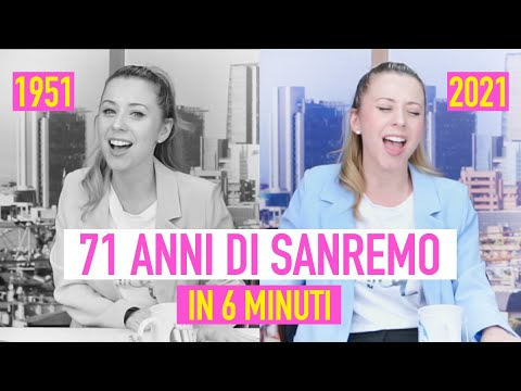 Download 71 ANNI DI SANREMO IN 6 MINUTI