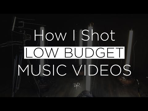 How I Shot LOW BUDGET Music Videos