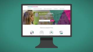 The redeveloped Consumer Protection website