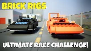 MULTIPLAYER ULTIMATE RACE CHALLENGE! -  Brick Rigs Multiplayer Gameplay