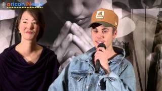 Justin Bieber press conference in JAPAN long ver.