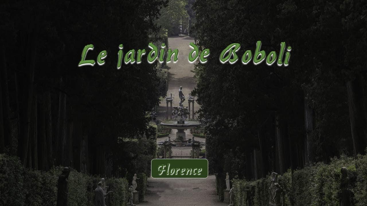 Le Jardin De Boboli A Florence Youtube