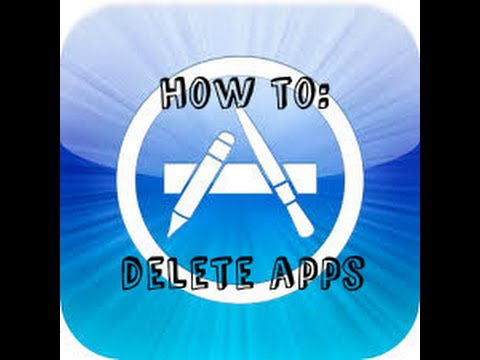 How to delete an apps on your iPhone 6,5, and 4
