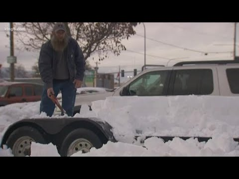 Sequim is still digging out from the  snow.