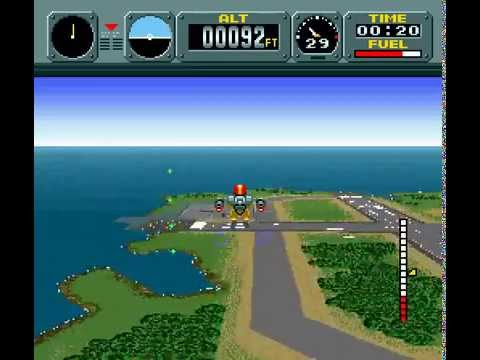 pilotwings snes playthrough youtube