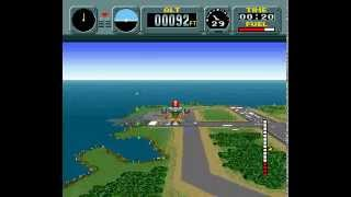 Pilotwings | SNES | Playthrough