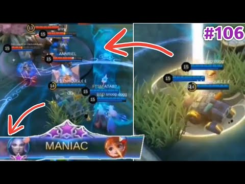 WTF Mobile Legends Funny Moments Episode 106 | 300 IQ Luo Yi MANIAC + Luo Yi Teleport Johnson Combo😂