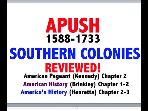 American Pageant Chapter 2 APUSH Review