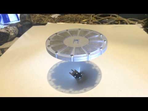 Large gap magnetic levitation project