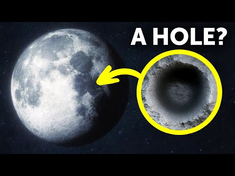 Giant Hole on the Moon May Lead to Secret Tunnel System