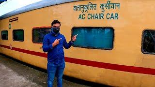 Bhagirathi Express AC Chair Car Train Journey Vlog.