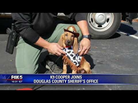 K 9 Cooper joins Douglas County Sheriff's Office
