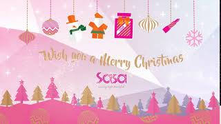 Sasa wish you a Merry Christmas!