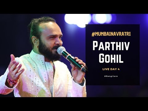 Parthiv Gohil at Rangilo Re | Mumbai Navratri | Garba Live | Day 4