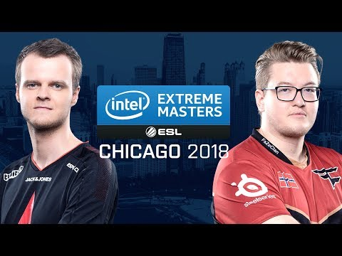CS:GO - Astralis vs. FaZe [Mirage] Map 1 - Group A - UB r3 - IEM Chicago 2018