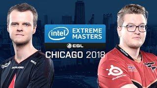 CS:GO - Astralis vs. FaZe [Mirage] Map 1 - Group A - UB r3 - IEM Chicago 2018