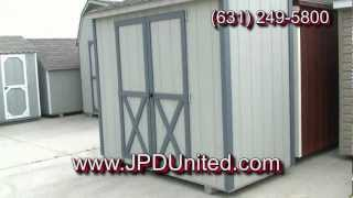 Shed Video 4 -- Lean-to Shed / Half Shed -- Farmingdale New York (ny) Jpd United
