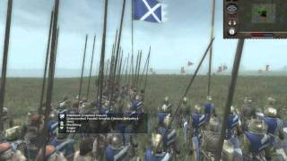 Medieval II: Total War - Scotland Vs. England /w Commentary