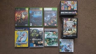 Video game collecting (Ep.4): Fallout, Splashdown 2, GTA Soundtracks!