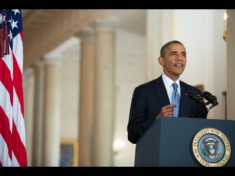President Obama Addresses the Nation on Syria