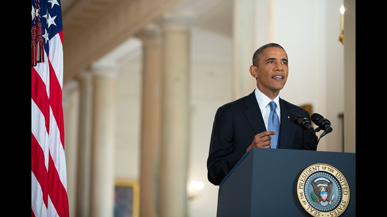 President Obama Addresses the Nation on Syria