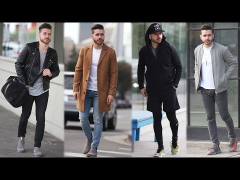 MEN'S OUTFIT INSPIRATION | MEN'S FASHION LOOKBOOK | ALEX COSTA
