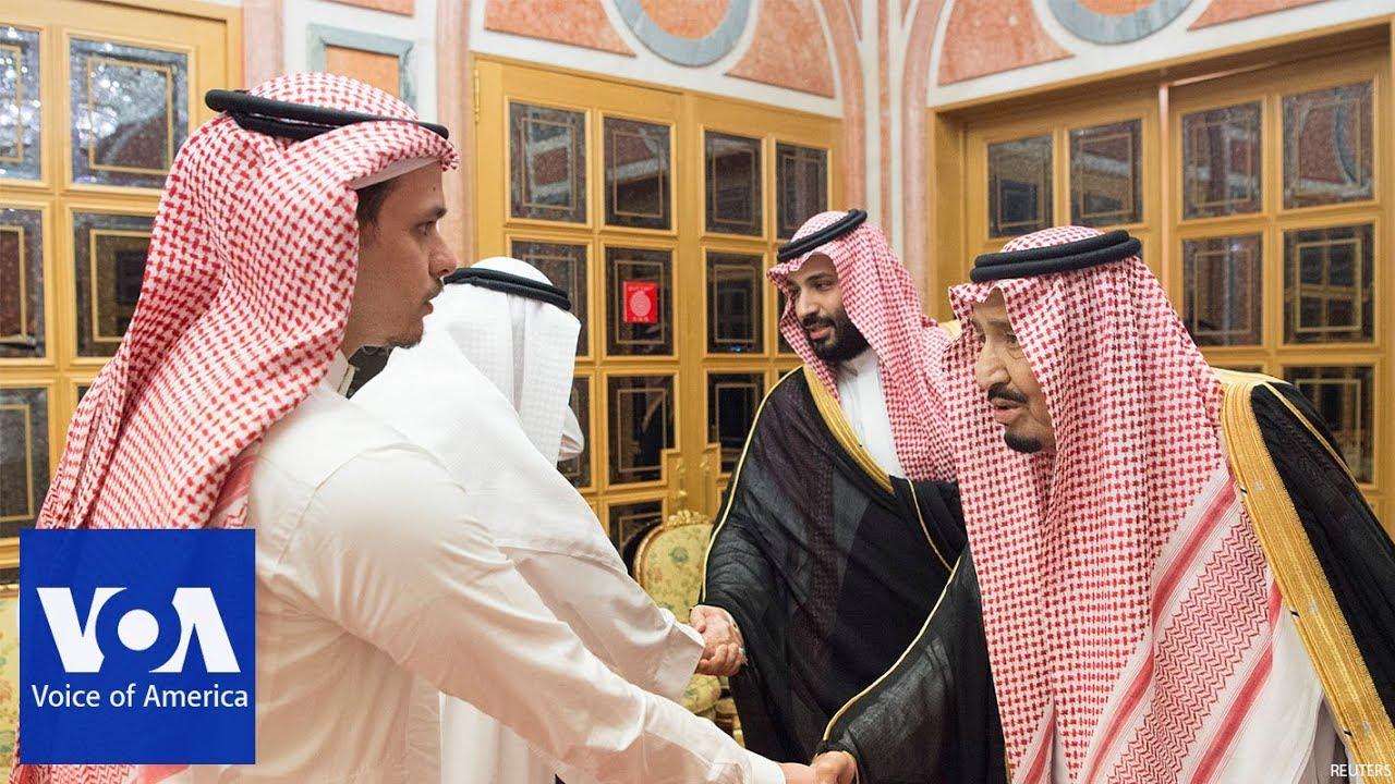 Saudi King Salman meets with family members of slain journalist