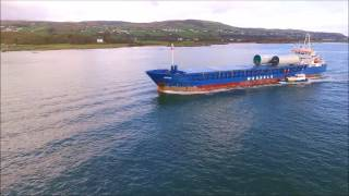 DJI Phantom 3 Advanced - Wilson Dunmore Cargo Ship & Pilot Boarding