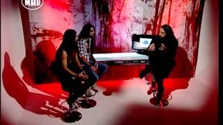 Greek Heavy Metal & Bio Cancer / Nul O Zero interviews (Tv War 24/11/14)