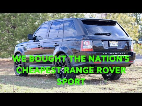 Best SUV Of 2012-Range Rover Sport Review