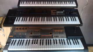 Electro01 - Korg Microstation / Roland Juno Gi / Casio XW-P1