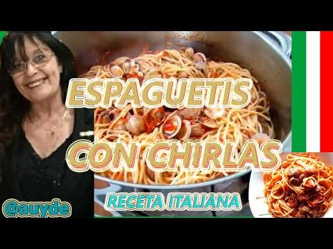 Espaguetis con chirlas a l 39 aurora youtube - Espaguetis con chirlas ...