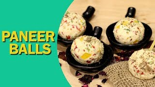 Paneer Cheese Balls | Quick Paneer Balls Recipe | पनीर बॉल्स | Healthy Lunch Box Recipe | Food Tak