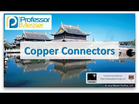 Descargar Video Copper Connectors- CompTIA Network+ N10-006 - 1.5