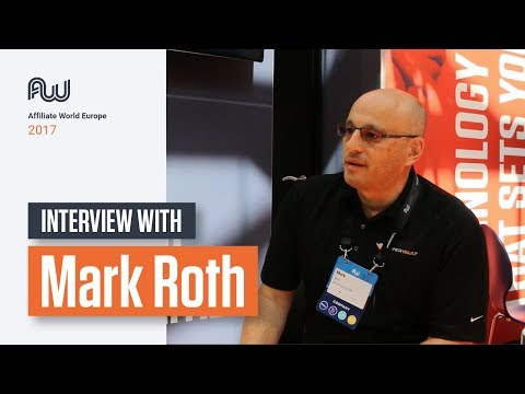 Mobidea Events - Affiliate World Europe 2017: Mark Roth - Interview!