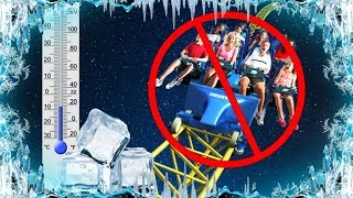 Why do Roller Coasters Close in Cold Weather?