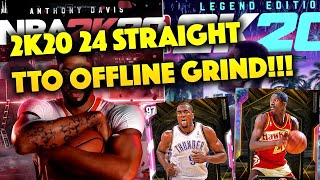LIVE TTO OFFLINE NUMBER ONE IN THE WORLD! 22 WINS AWAY FROM OPAL WILKINS!! IBAKA EVO GRIND! NBA 2K20