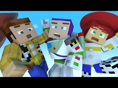Toy Story 4 Teaser Minecraft Animation