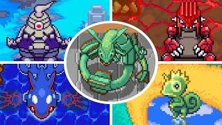 Pokémon Pinball: Ruby & Sapphire - All Bosses