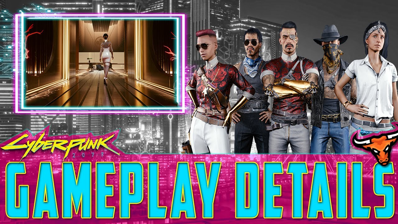 Cyberpunk 2077 - All New game play details - Perks - Abilities - Weapons