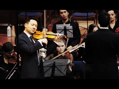 Conrad Chow plays Barber Violin Concerto