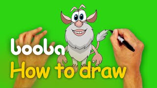 How to draw Booba? - Step-by-Step Art Lesson(Learn how to draw Booba and share your drawings with us at booba@3dsparrow.com. Booba is cute and inquisitive, like a five-year-old kid. He explores the ..., 2016-04-27T13:59:55.000Z)