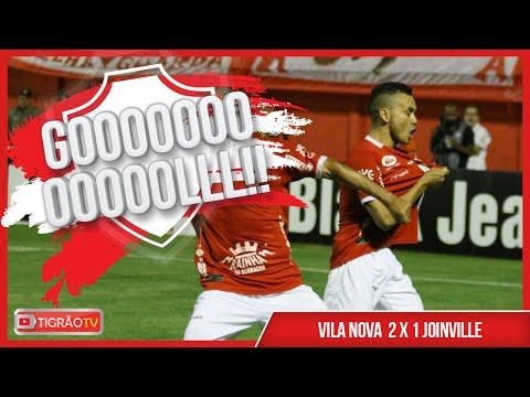 VILA NOVA 2X1 JOINVILLE - GOLS