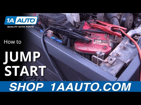 How To Safely Jump Start Vehicle With Jumper Cables